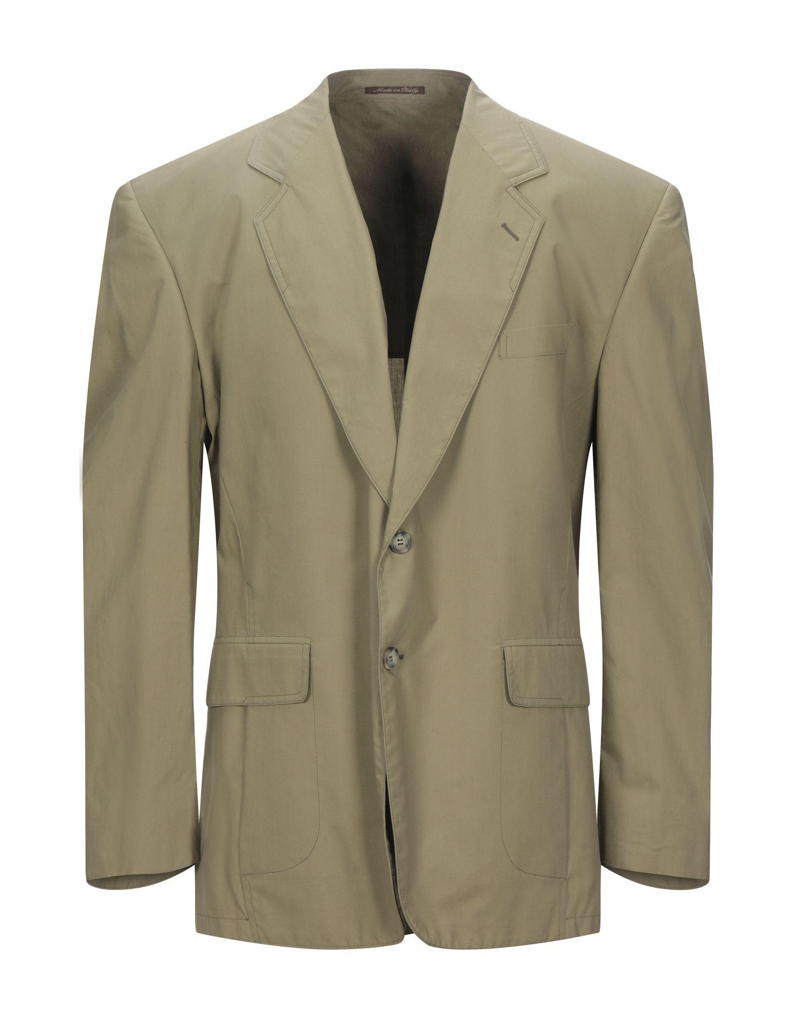《セール開催中》BERRY CLUB メンズ テーラードジャケット サンド 54 コットン 100%