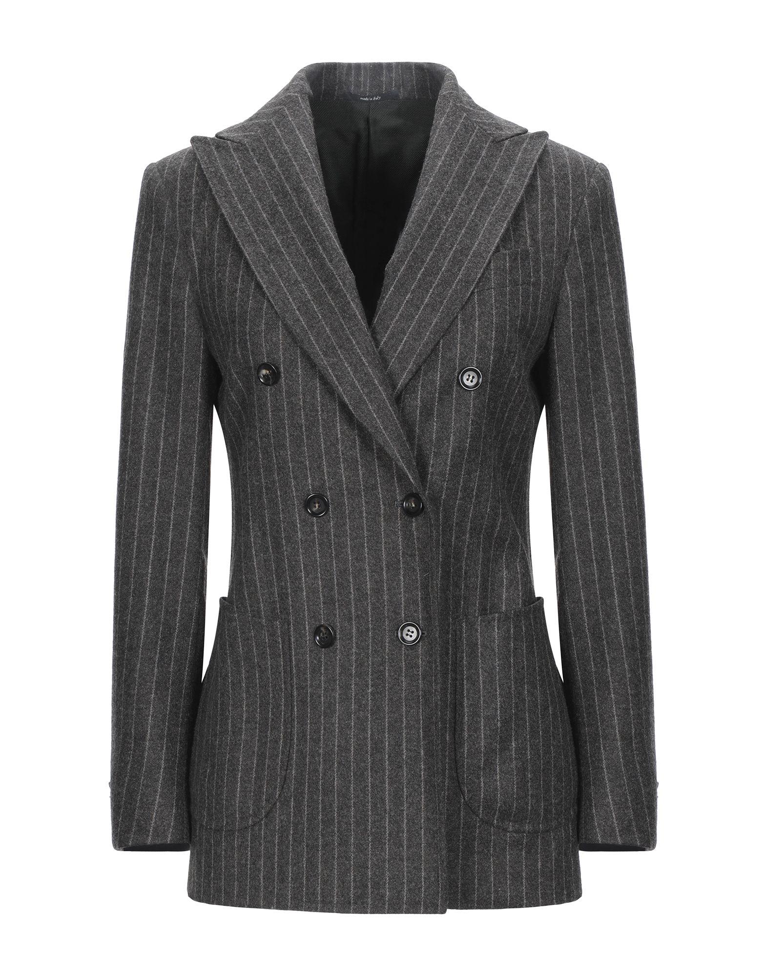 《セール開催中》STILE LATINO レディース テーラードジャケット グレー 40 ウール 100%