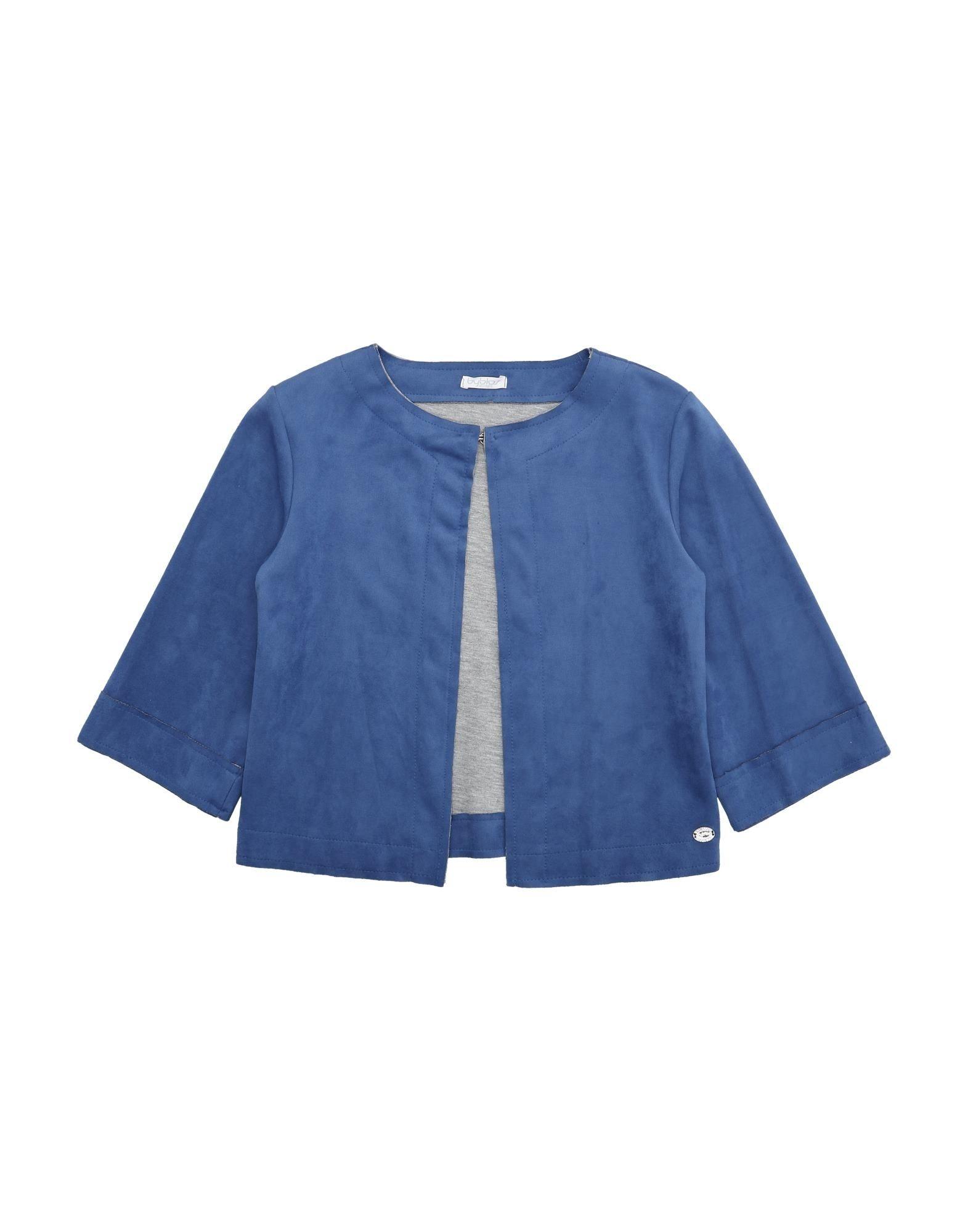 《セール開催中》BYBLOS ガールズ 9-16 歳 テーラードジャケット ブルー 12 ポリエステル 92% / ポリウレタン 8%