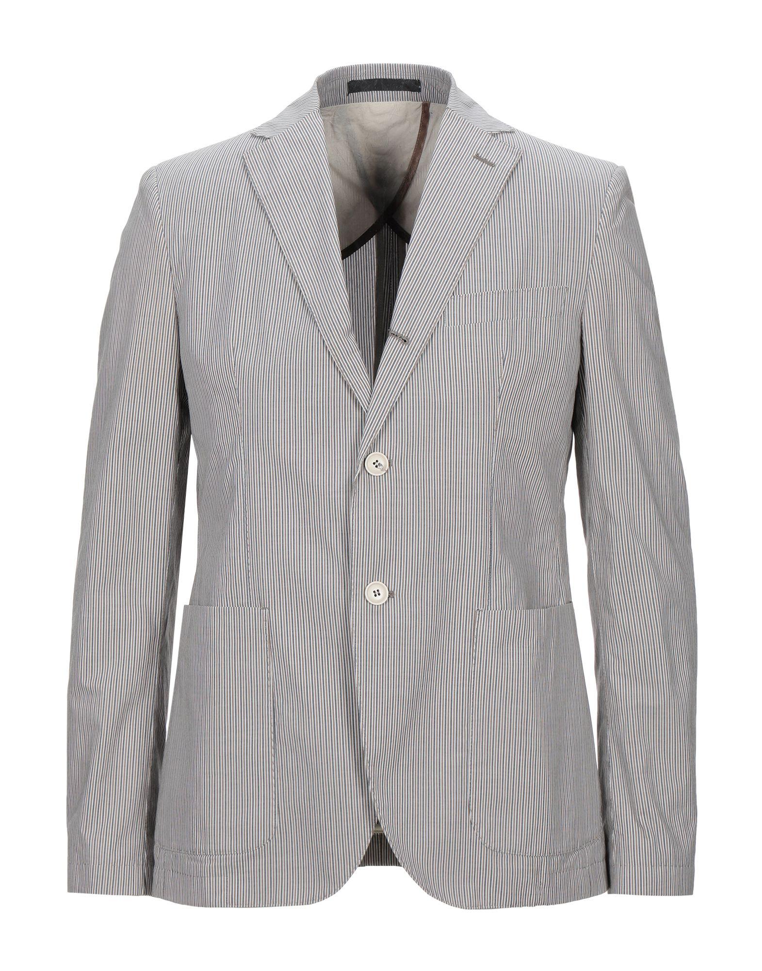 《セール開催中》BERRY & BRIAN メンズ テーラードジャケット ミリタリーグリーン 52 コットン 100%