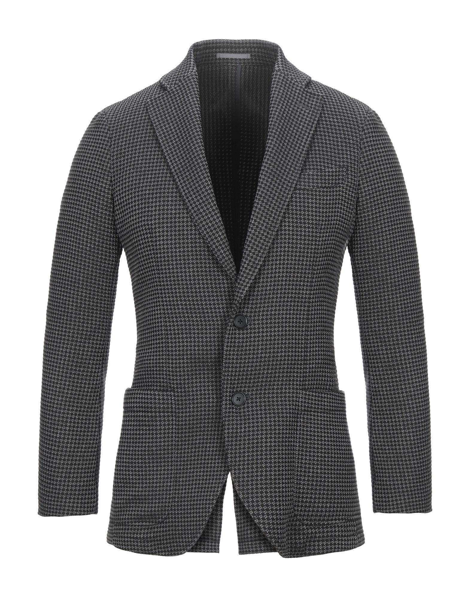 《セール開催中》HYBRID SENSOR? by FLEXJAPAN メンズ テーラードジャケット グレー 46 ポリエステル 100%