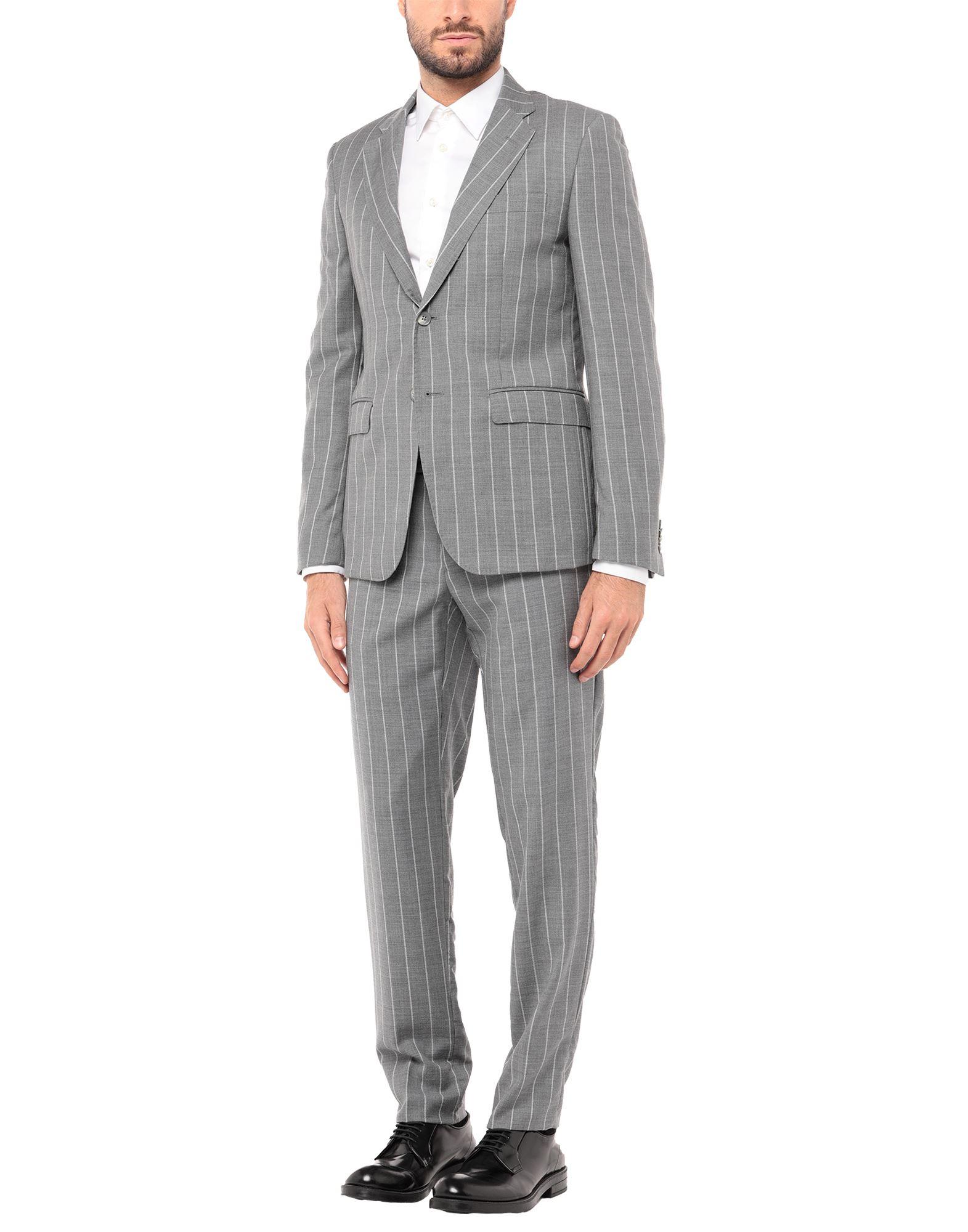 《セール開催中》BRIAN DALES メンズ スーツ ライトグレー 46 ウール 100%