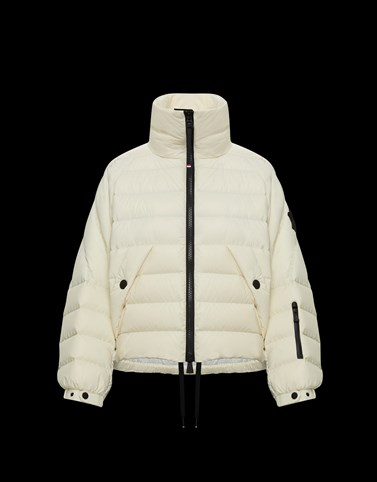 SOUSSUN White Short Down Jackets Woman