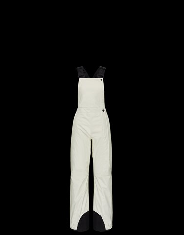 SALOPETTES White Grenoble Ski Suits Woman