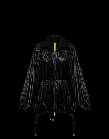 DIAMOND ブラック ジャケット&トレンチ レディース
