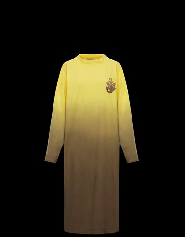 DRESS Yellow Polos & T-Shirts Woman