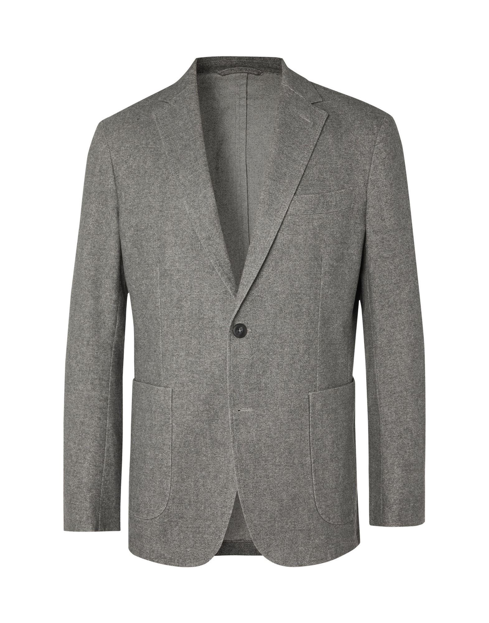《セール開催中》NN07 メンズ テーラードジャケット グレー XL コットン 58% / ポリエステル 27% / レーヨン 14% / ポリウレタン 1%