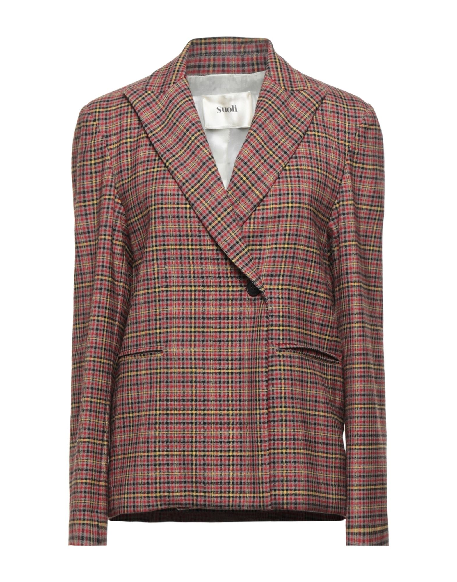 Suoli Suit Jackets In Brown
