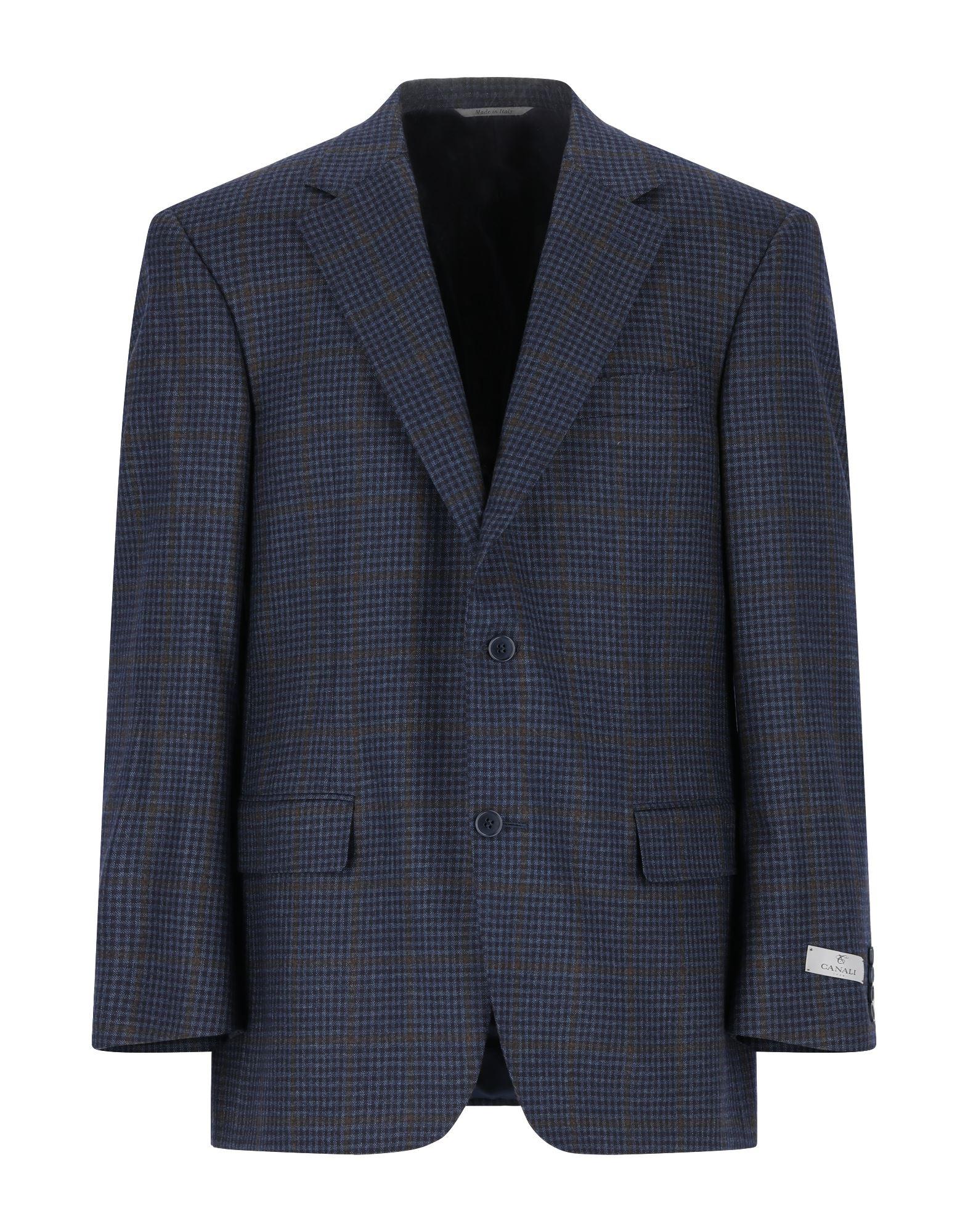 CANALI Пиджак canali шерстяная куртка в клетку