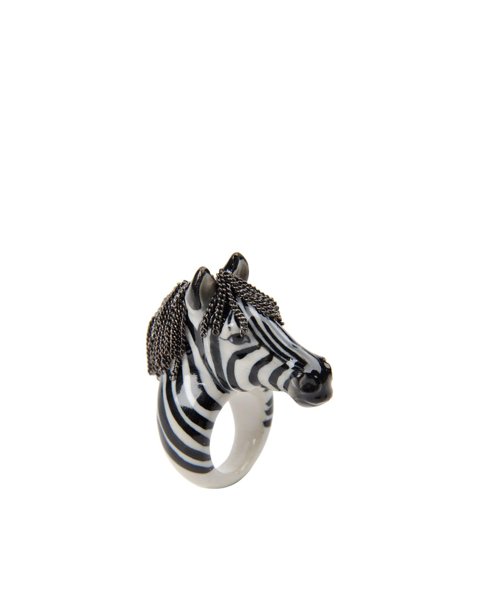 《送料無料》NACH レディース 指輪 ホワイト S セラミック / 真鍮/ブラス