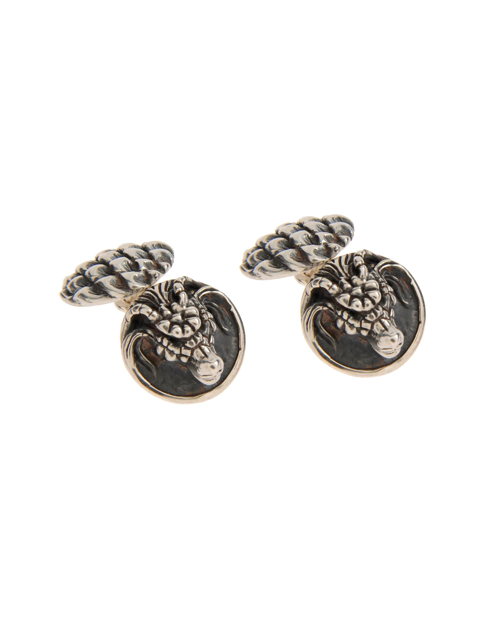Cufflinks And Tie Clips in Silver