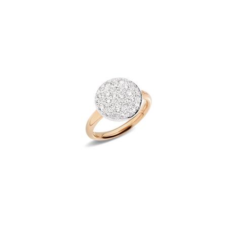 POMELLATO Ring Sabbia A.B204 E f