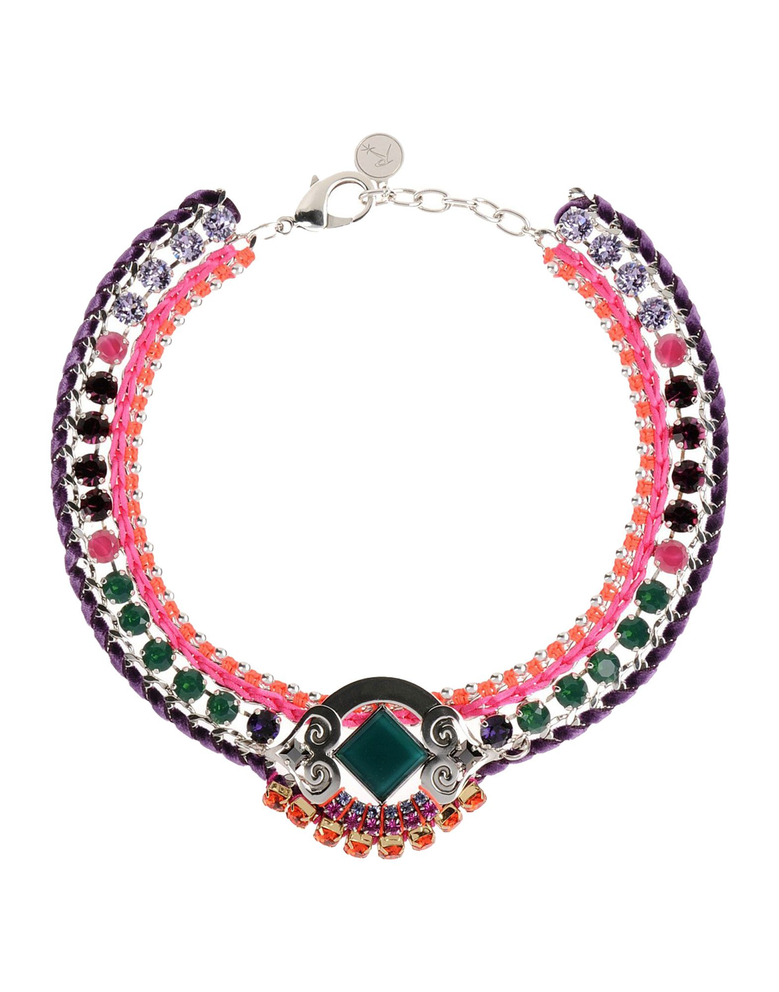 REMINISCENCE Necklace in Fuchsia