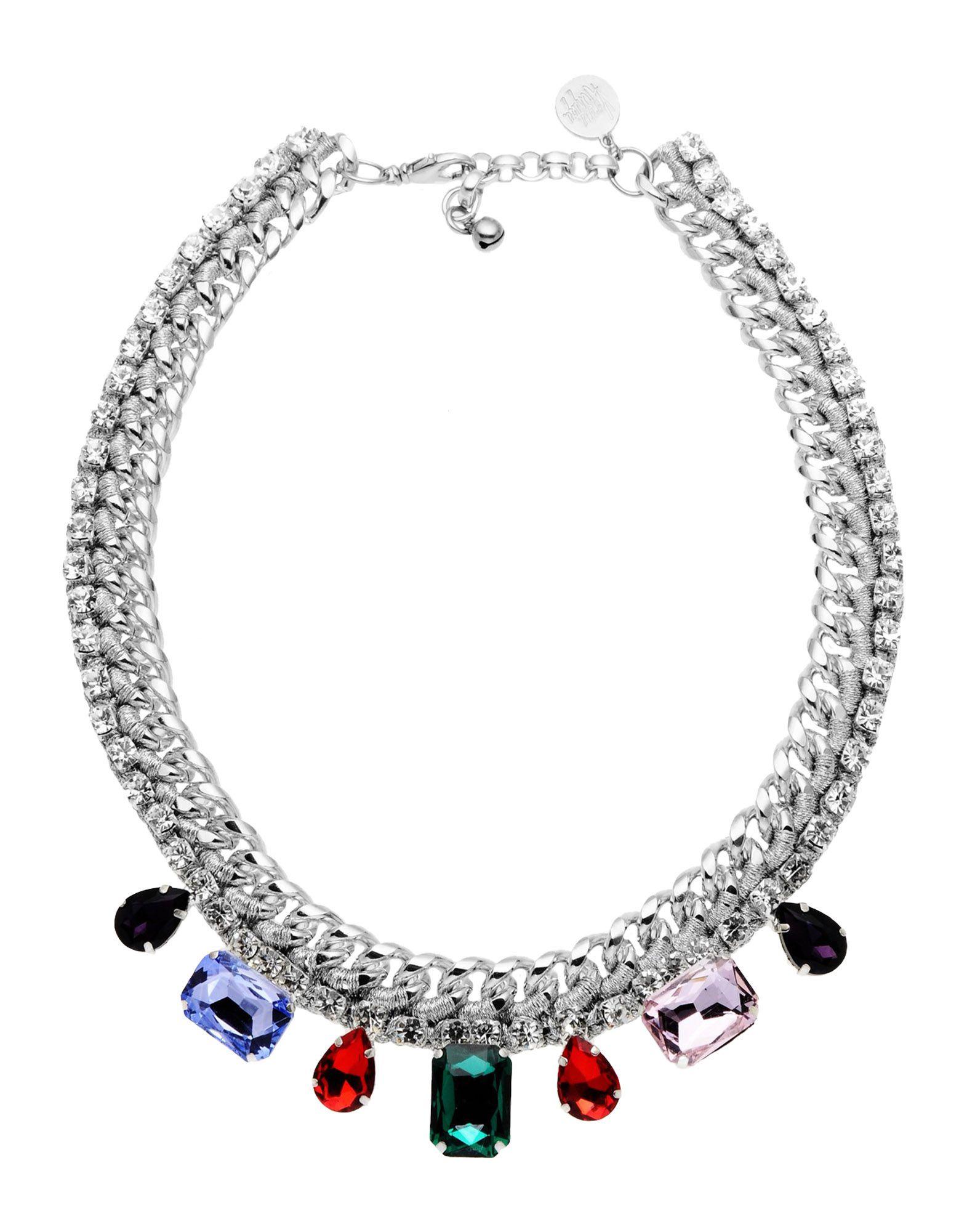 《送料無料》VENESSA ARIZAGA レディース ネックレス シルバー 金属繊維