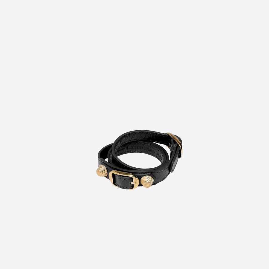 BALENCIAGA Giant Bracelet Triple Tour Or Bracelet Giant Triple Tour D f