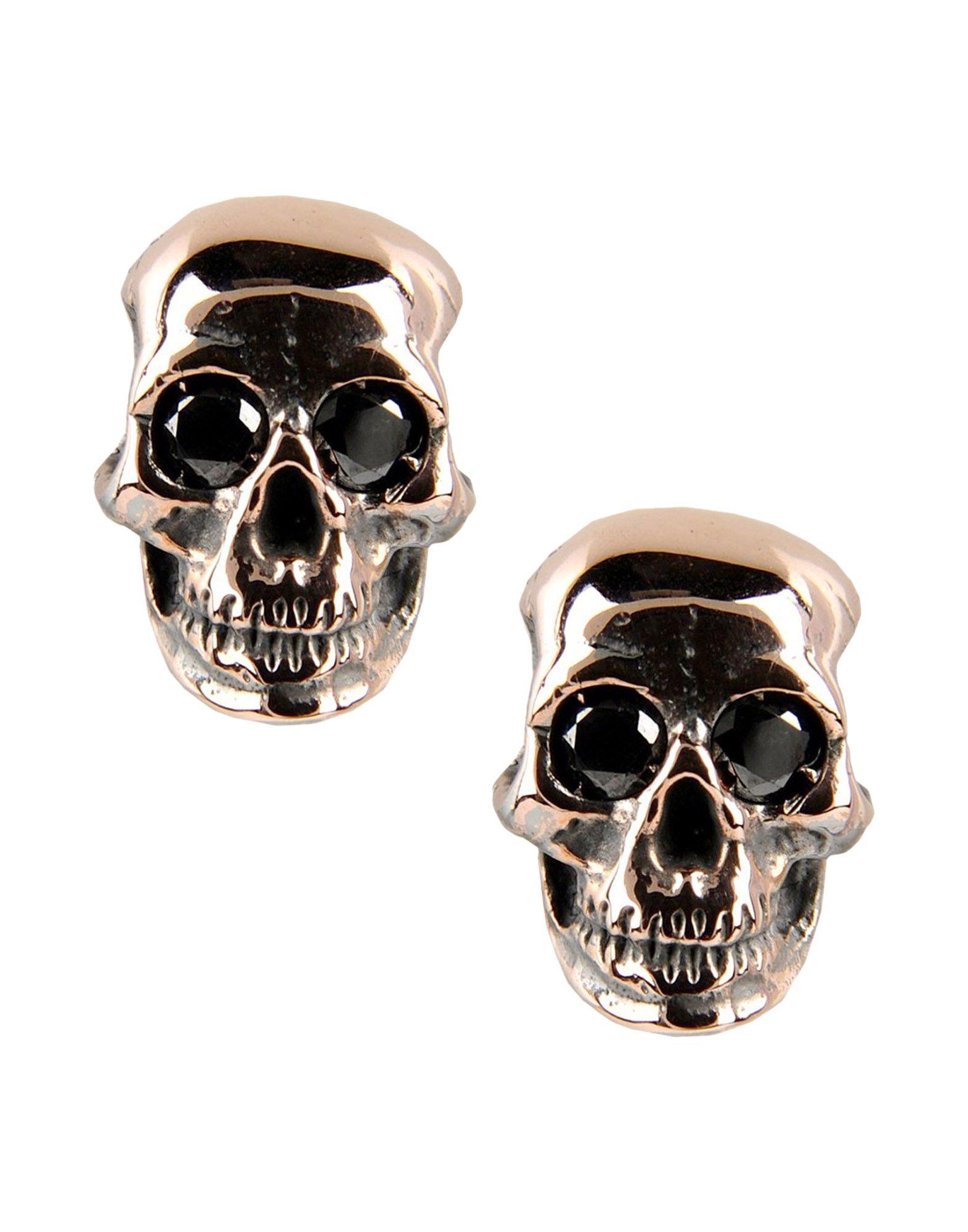 MANUEL BOZZI Earrings in Copper