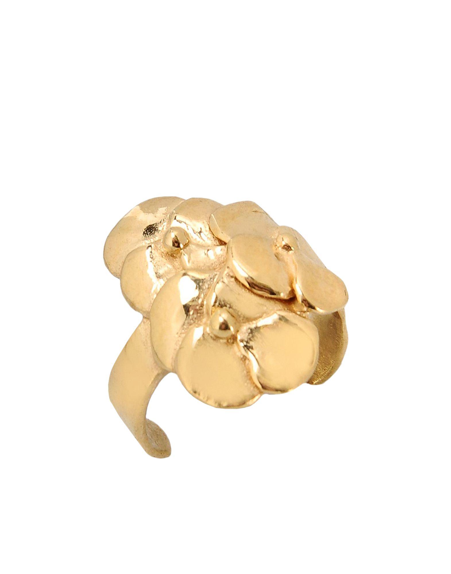 《セール開催中》FIRST PEOPLE FIRST レディース 指輪 ゴールド one size 真鍮/ブラス Pansy Fingernail Ring