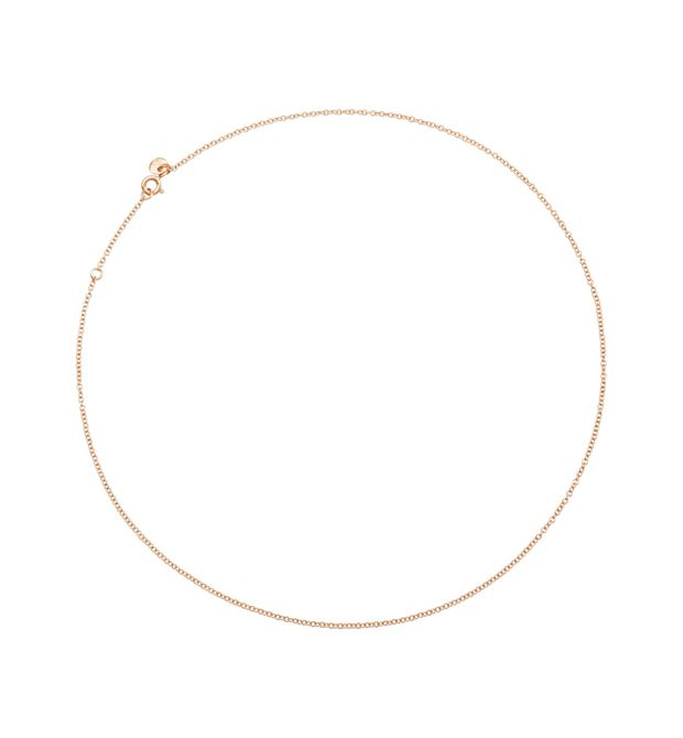 Rose gold chocker
