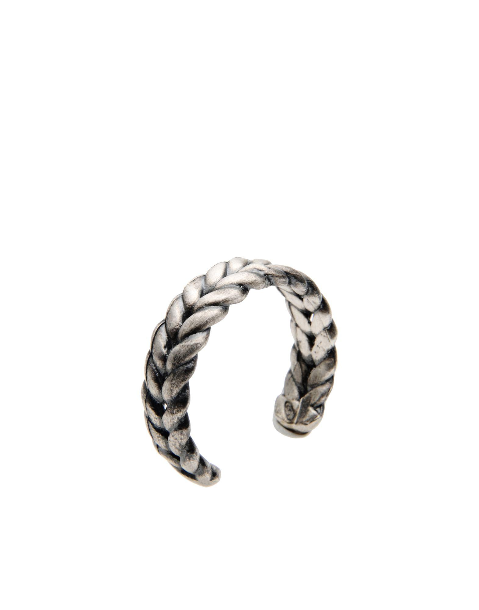 《期間限定 セール開催中》FIRST PEOPLE FIRST メンズ 指輪 シルバー S シルバー925/1000 GRUMETTE LOCKED RING