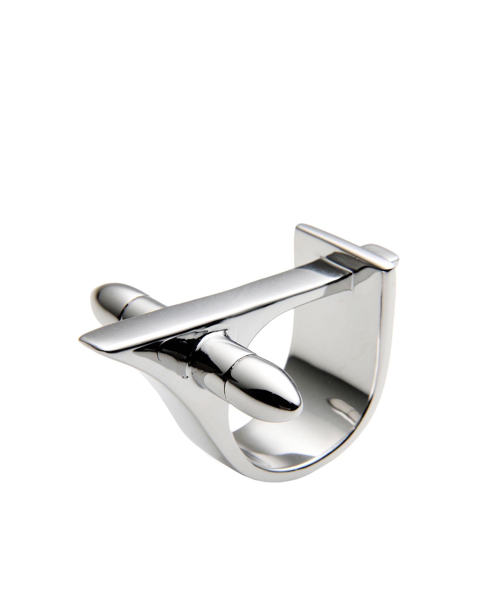《セール開催中》FIRST PEOPLE FIRST レディース 指輪 シルバー S 真鍮/ブラス JEDI RING - RHODIUM SERIES