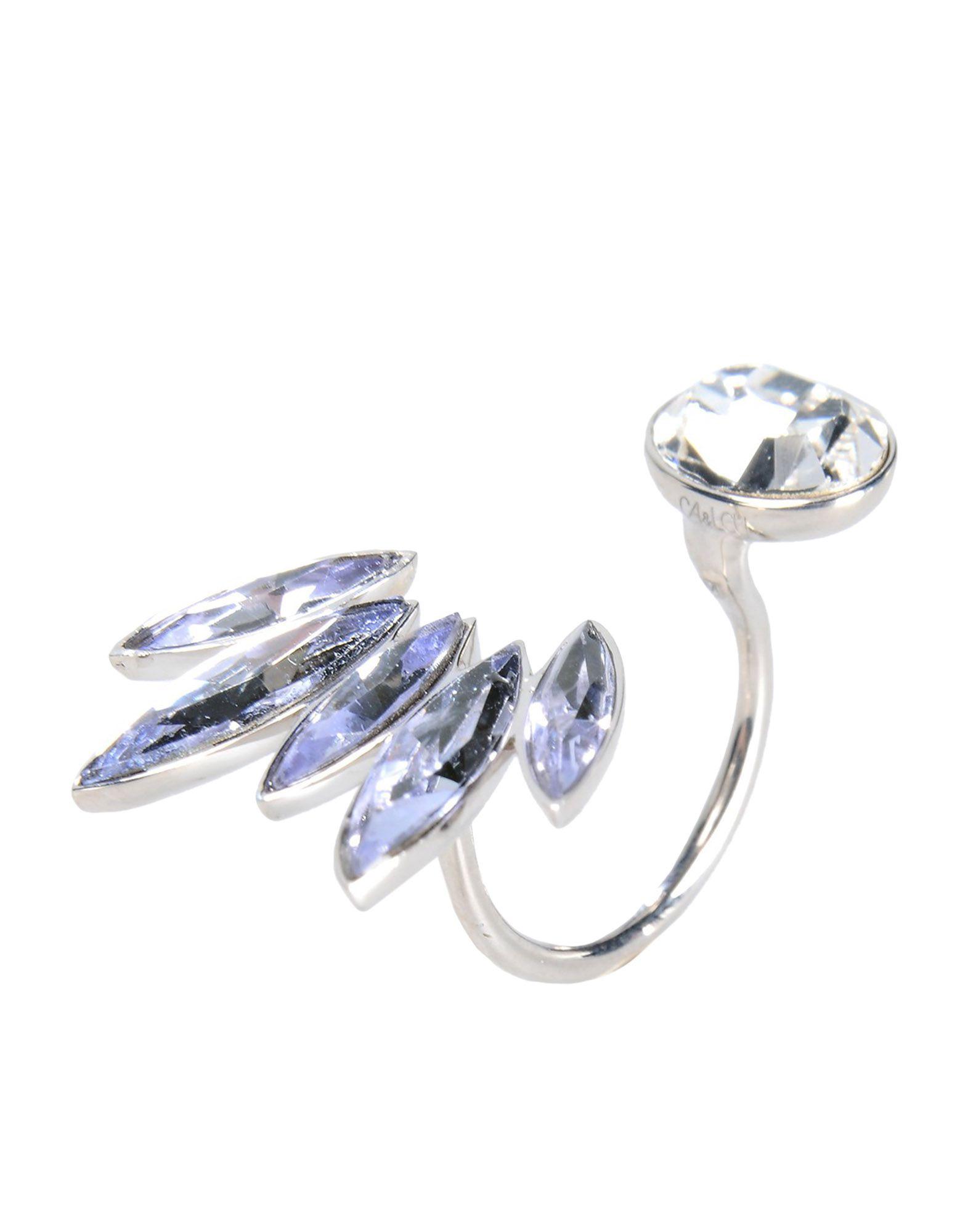 《送料無料》CA & LOU レディース 指輪 シルバー one size 真鍮/ブラス