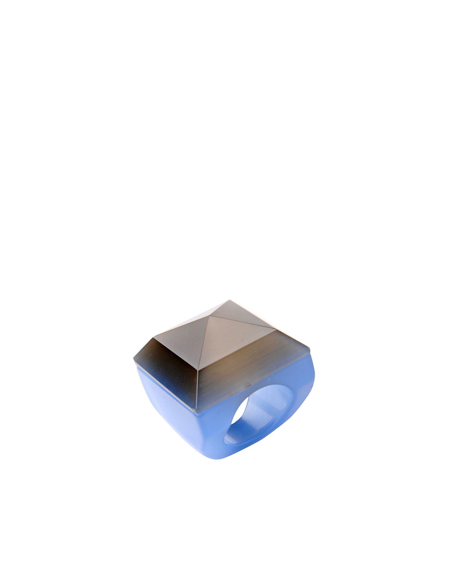 《セール開催中》FIRST PEOPLE FIRST レディース 指輪 スチールグレー 14 ガラス ANELLO VETRO