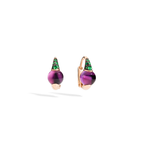 POMELLATO Earrings m'ama non m'ama O.B502 E f