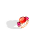 POMELLATO A.B505 E Ring Rouge Passion f