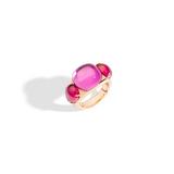 POMELLATO A.B505 E Ring Rouge Passion f