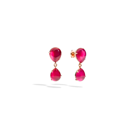 POMELLATO Earrings Rouge Passion O.B505 E f