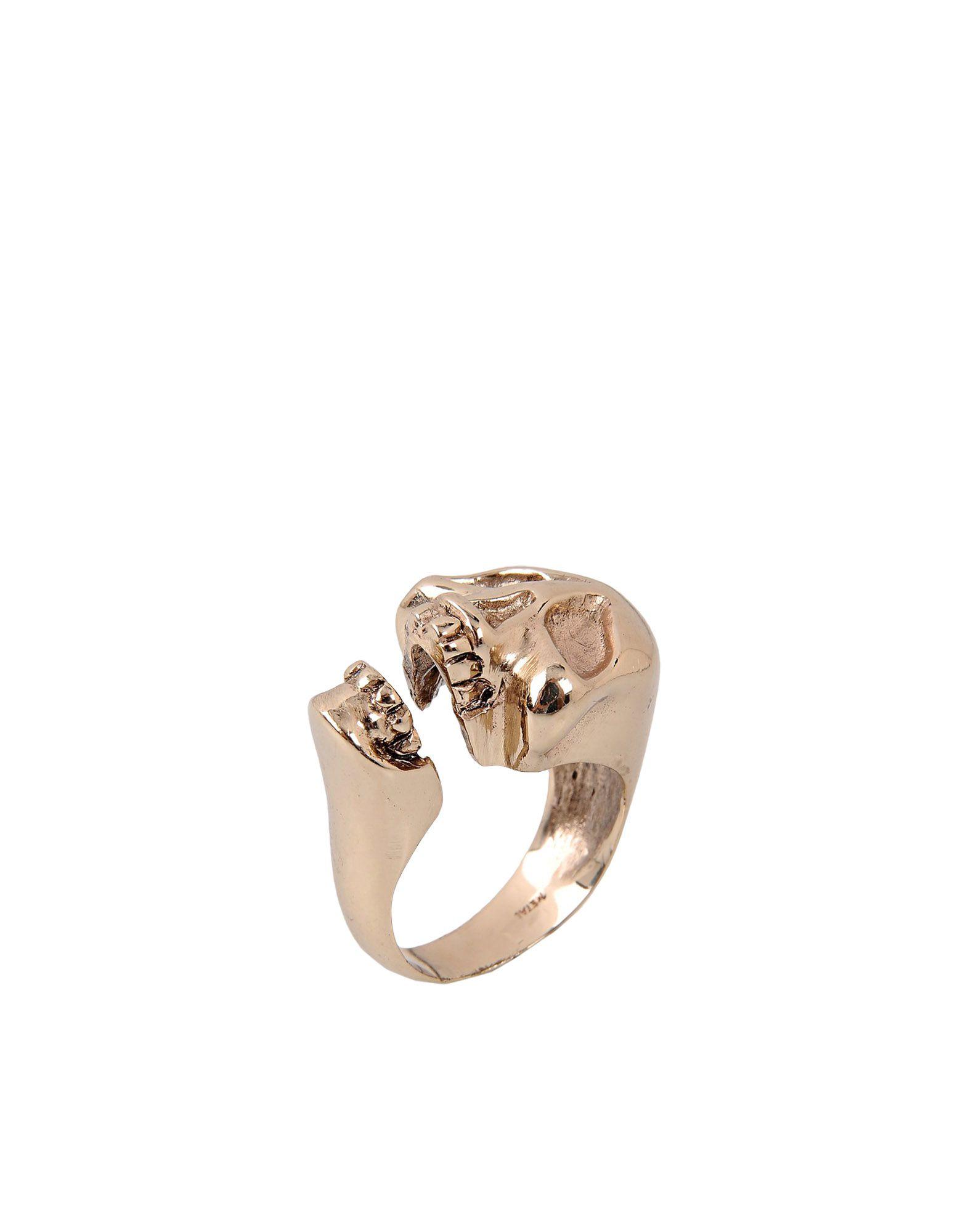 BERNARD DE LETTREZ レディース 指輪 ゴールド one size 金属繊維