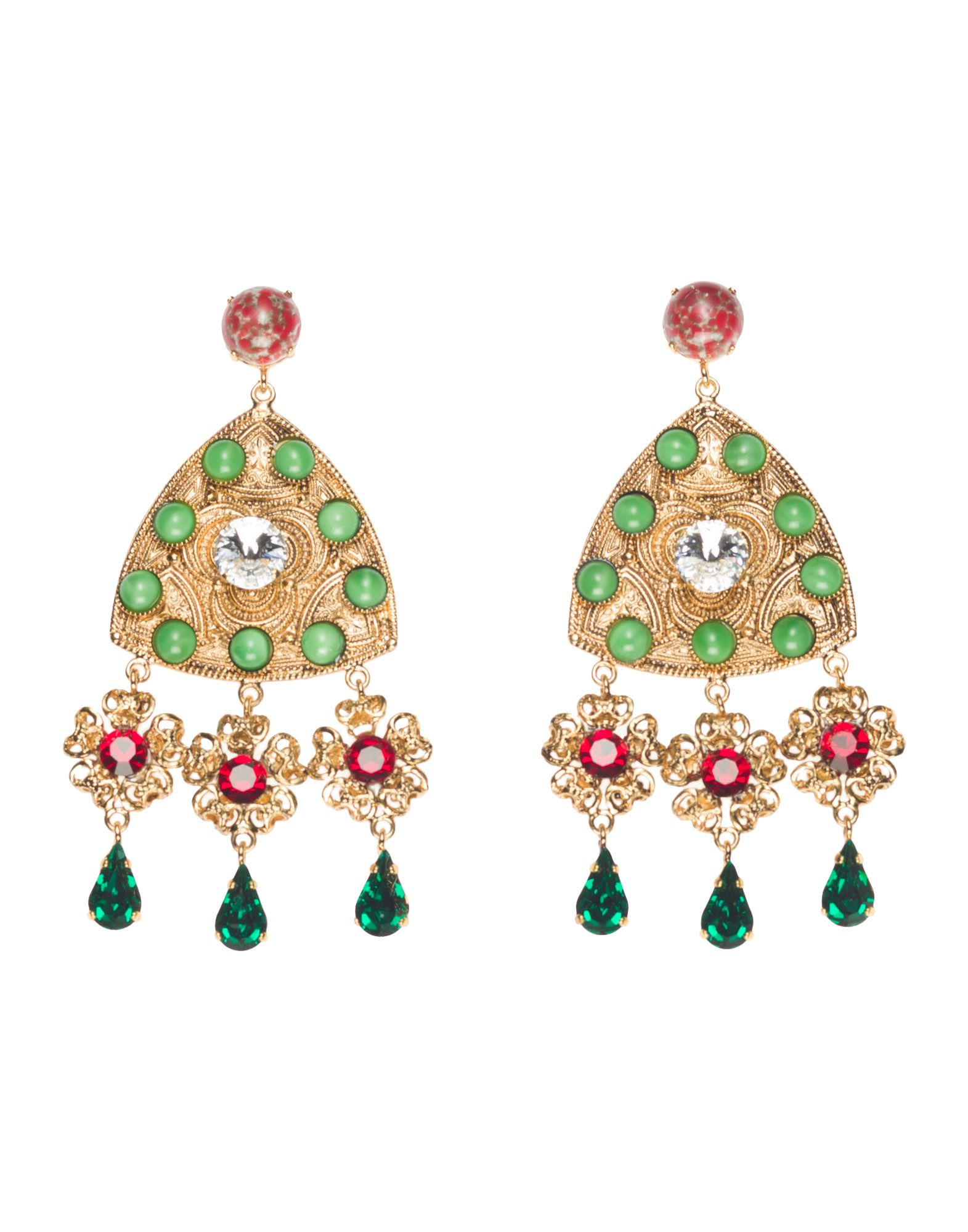 drop earrings in 14k white gold 1 50 ct t w