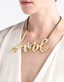 LANVIN Necklace Woman Iconic Love Necklace f