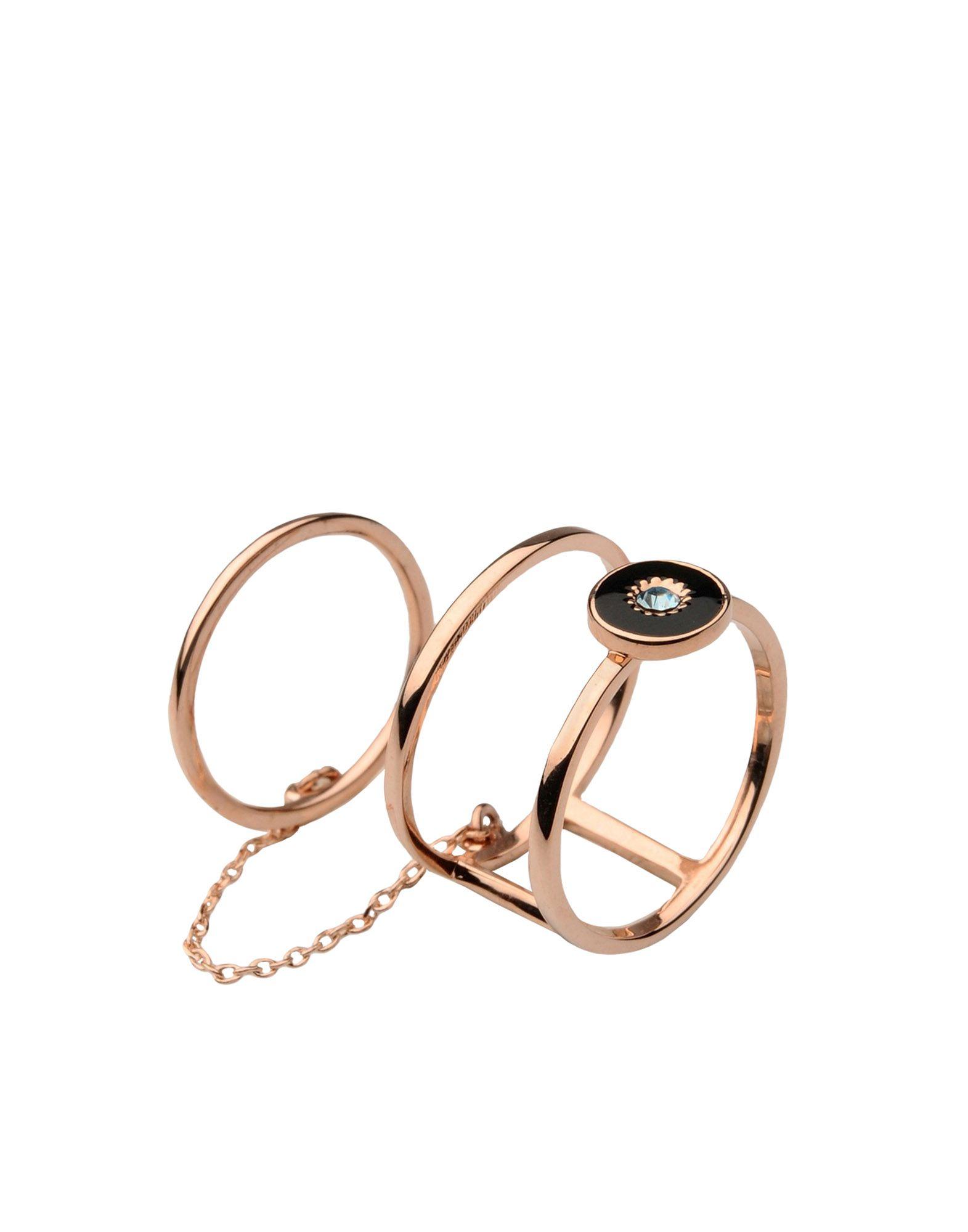 《期間限定 セール開催中》EYLAND レディース 指輪 カッパー S 真鍮/ブラス JUNO DOUBLE RING