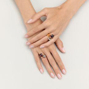 POMELLATO A.B501 E Ring Nudo c