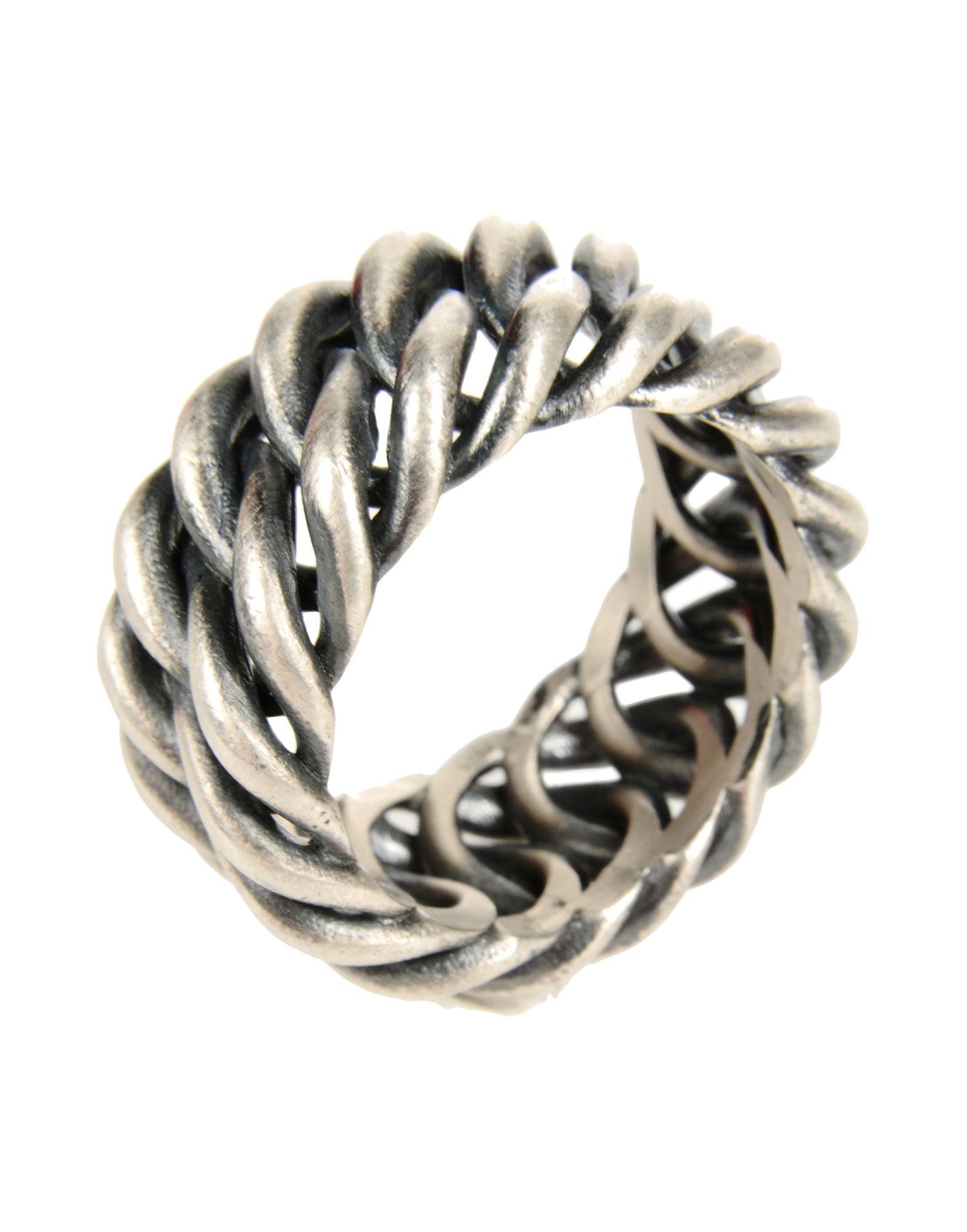 《期間限定 セール開催中》FIRST PEOPLE FIRST メンズ 指輪 シルバー 20 シルバー925/1000 CHAIN RING
