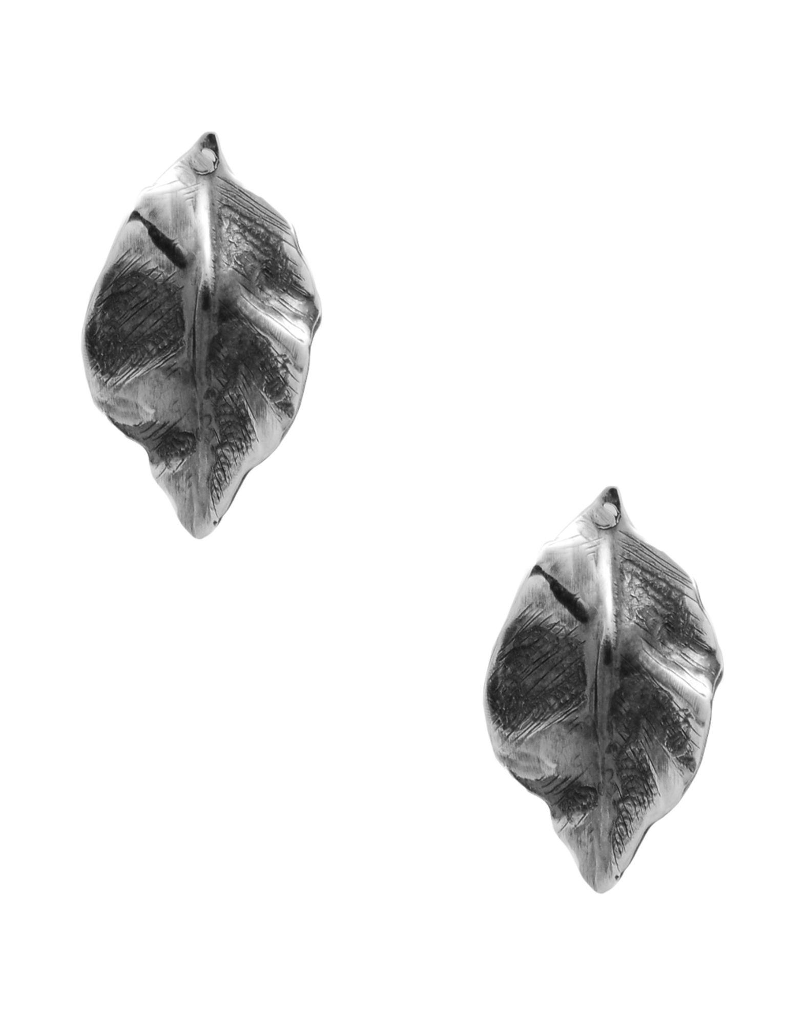 《送料無料》FIRST PEOPLE FIRST レディース イヤリング 鉛色 銀 ORECCHINI FOGLIA