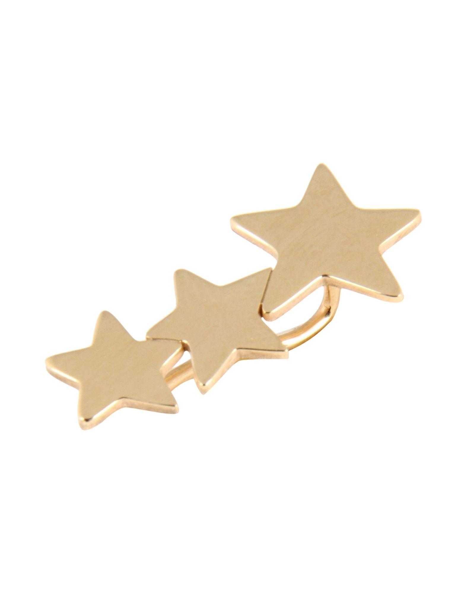 《送料無料》FIRST PEOPLE FIRST レディース ピアス&イヤリング ゴールド 銀 Ear cuff Three Stars