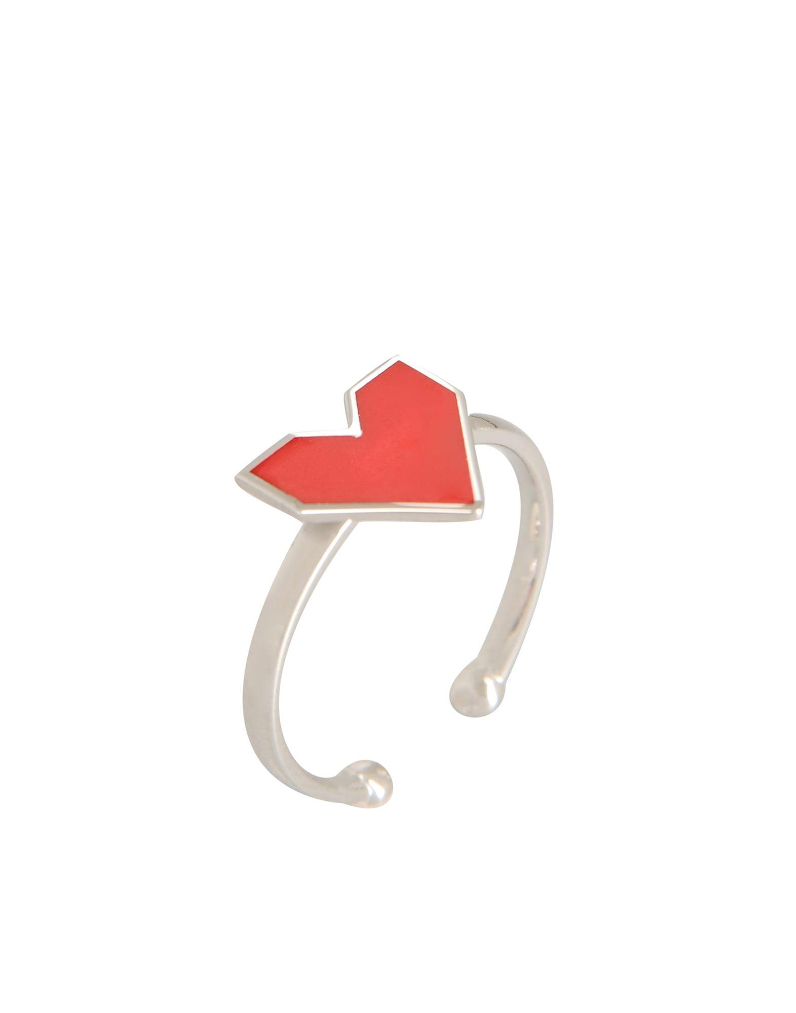 《期間限定セール開催中!》FIRST PEOPLE FIRST レディース 指輪 シルバー one size シルバー925/1000 FUN RING RED HEART