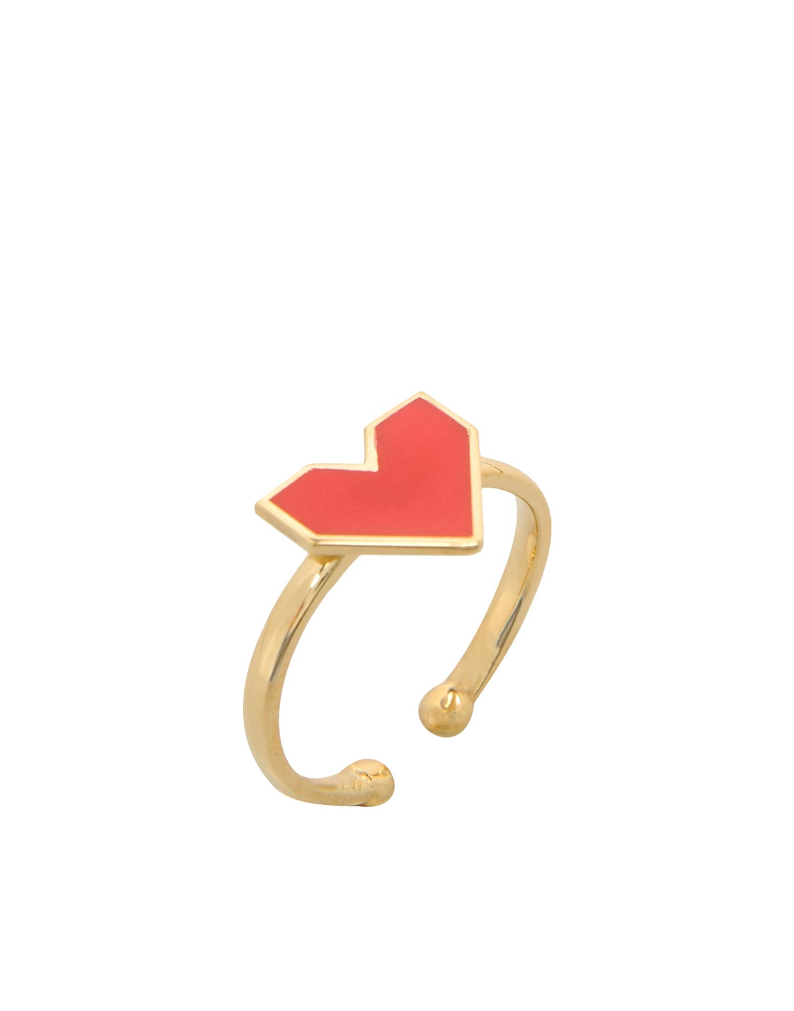 FIRST PEOPLE FIRST レディース 指輪 FUN RING RED HEART ゴールド
