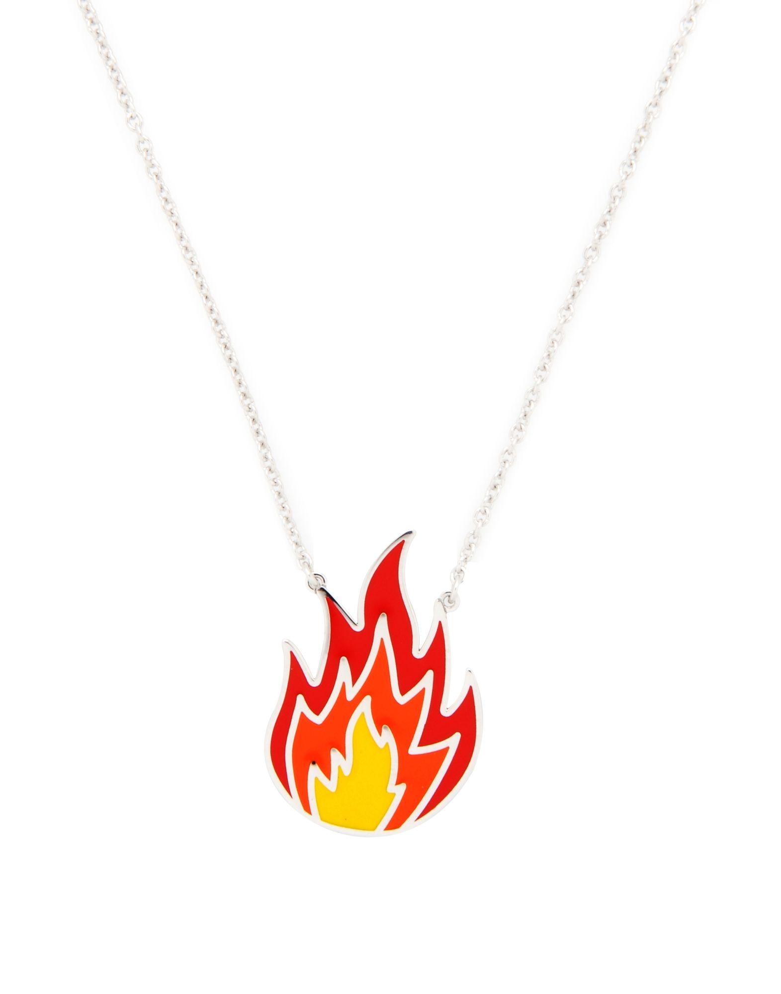 《セール開催中》FIRST PEOPLE FIRST レディース ネックレス シルバー シルバー925/1000 NECKLACE ON FIRE