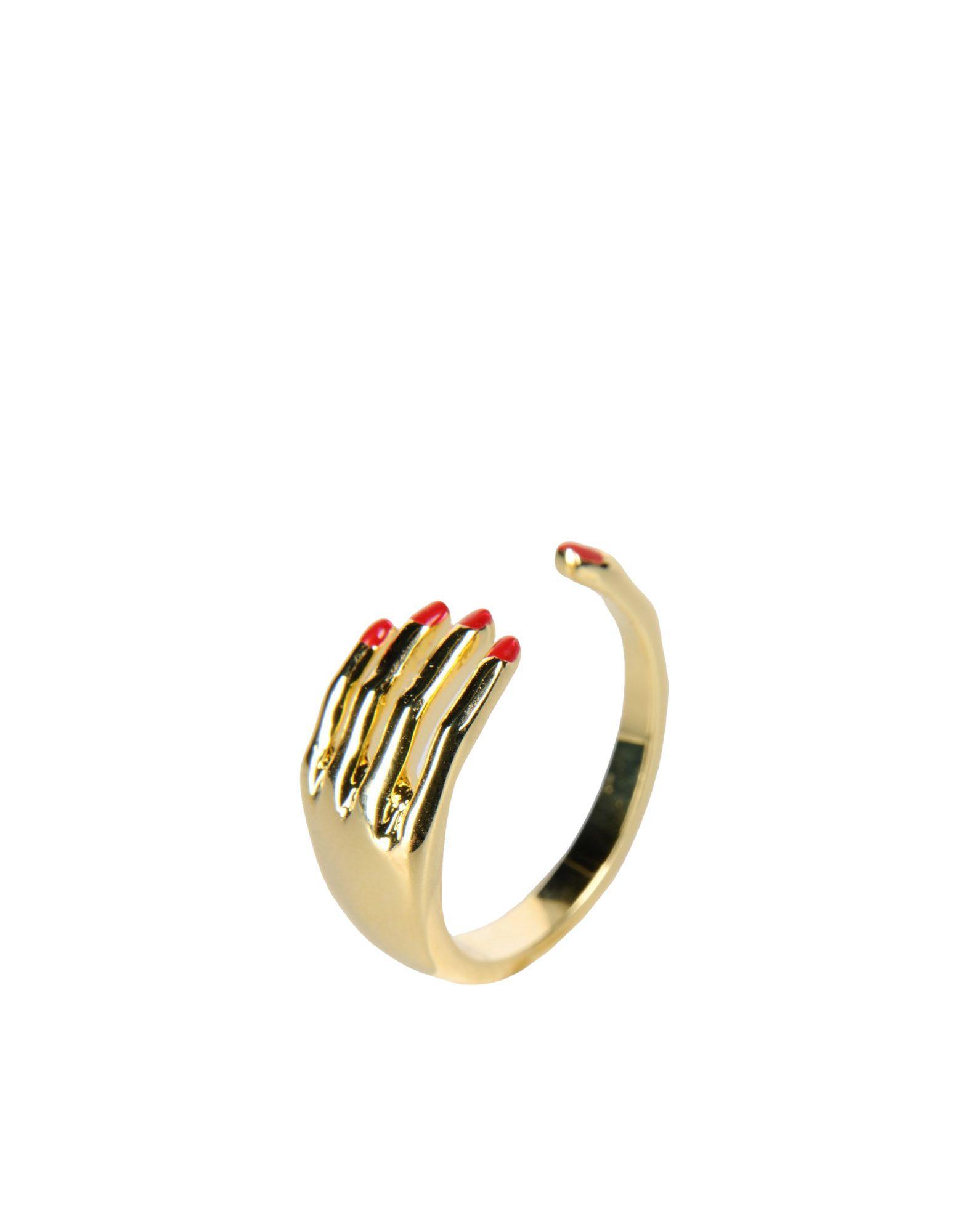 《期間限定 セール開催中》EYLAND レディース 指輪 ゴールド S 真鍮/ブラス / エナメル MASSON RING