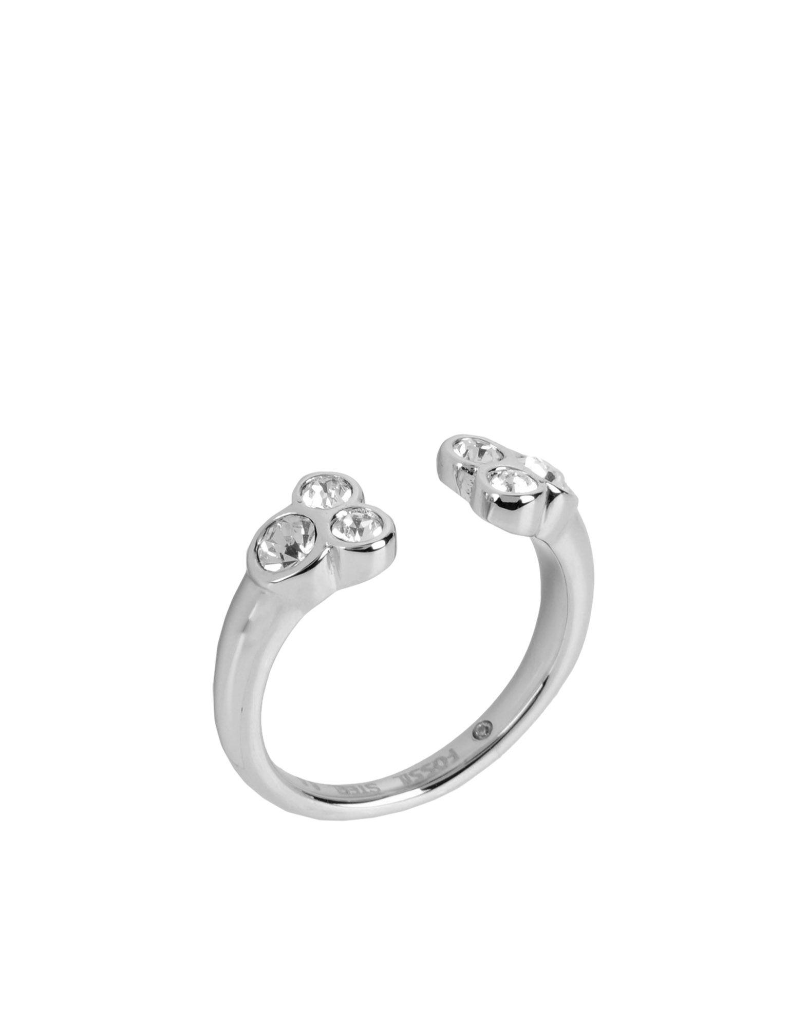 FOSSIL Damen Ring Farbe Silber Größe 1