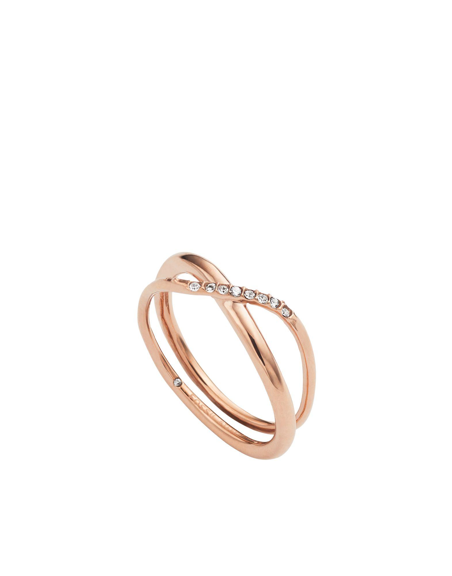FOSSIL Damen Ring Farbe Kupfer Größe 17