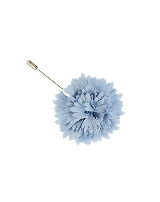 WOOL AND SILK CARNATION TIE PIN