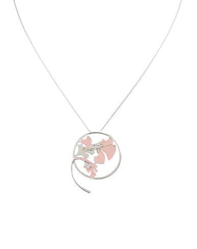 Ожерелье EK THONGPRASERT. Цвет: серебристый