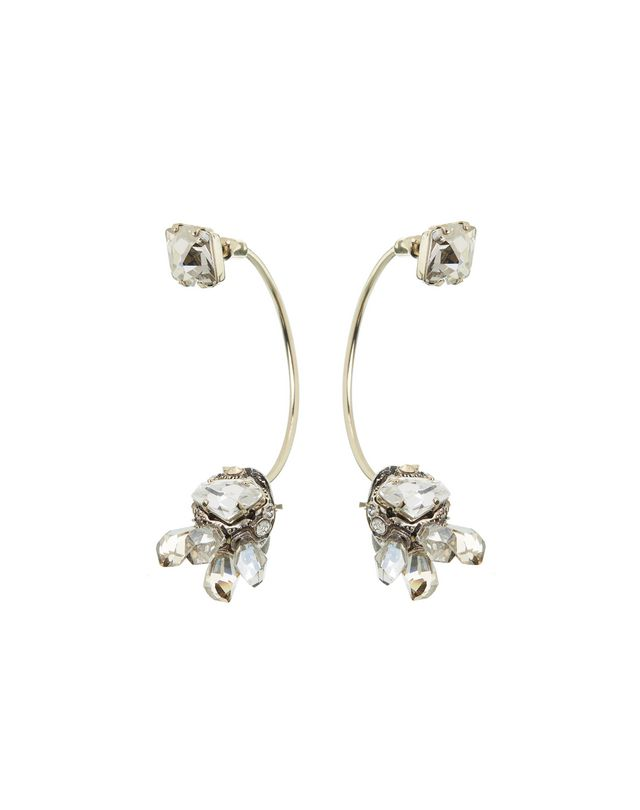 "LANVIN ""CRISTAL DE ROCHE"" EARRING Earrings D f"