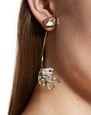 """LANVIN Earrings Woman """"CRISTAL DE ROCHE"""" EARRING f"""