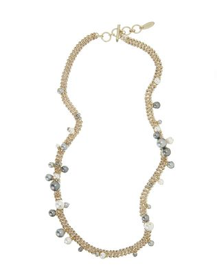 "LANVIN ""PERLES"" LONG NECKLACE Necklace D f"