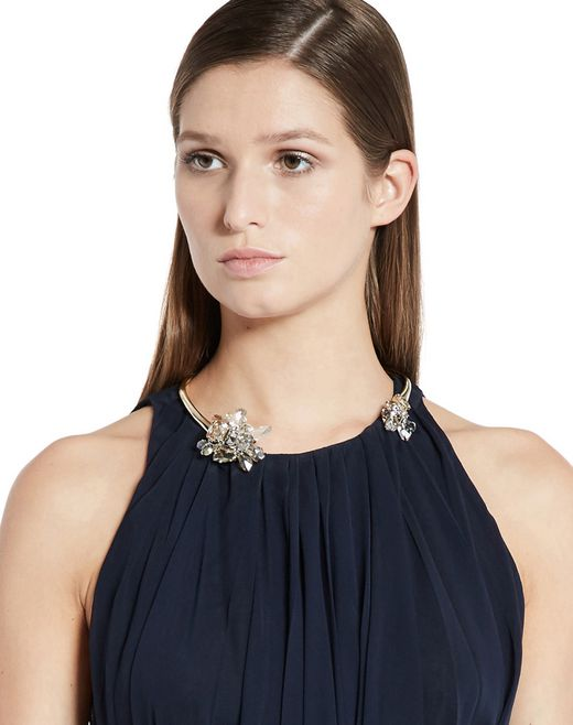 "lanvin ""cristal de roche"" necklace women"